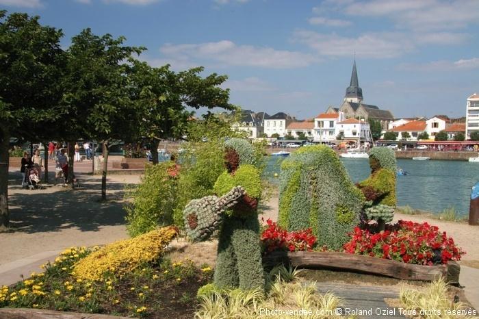 Ville fleurie Saint Gilles Croix de Vie