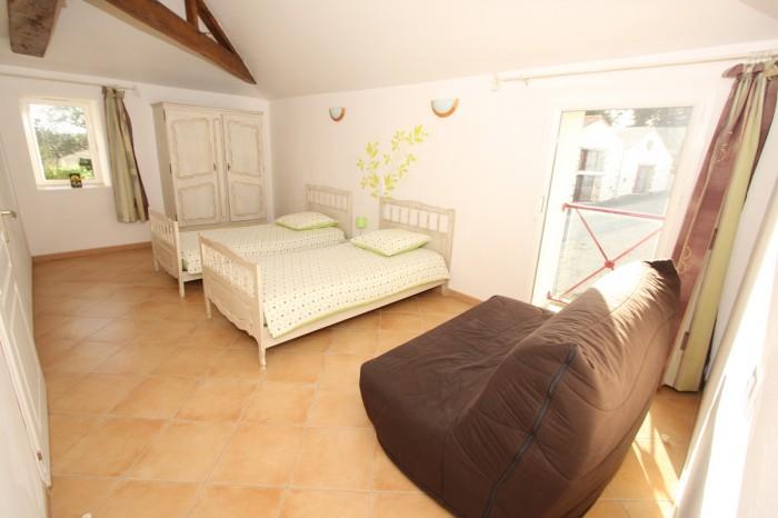 Gîte la Vallée 6 personnes 2 lits de 90 en Vendée