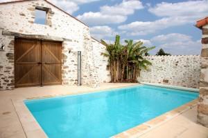 Gite avec piscine chauffée privée en Vendée
