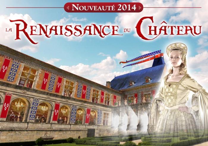 Spectacle de 2014 la Renaissance du Château au Puy du Fou